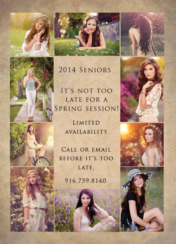 Roseville senior portraits
