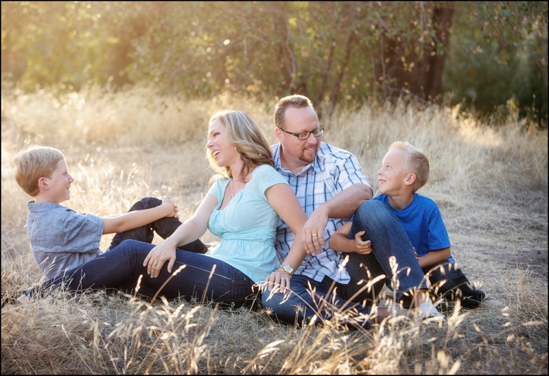 Roseville family pictures